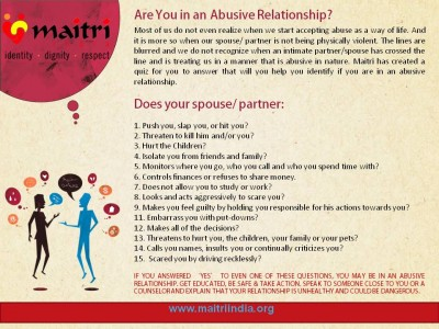 spouse and intimate partner abuse
