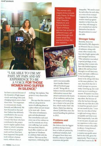 Femina Women Outreach Program SRL Diagnostics