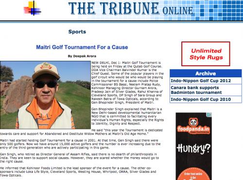The Tribune oline